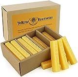 Reines Bienenwachs 720g 24 Stück Kerzenwachs mit Paket Bienenwachs Blöcke Perfekt für Kosmetika Kerzen Cremes Salben Seifen Bienenwachshandtücher Selber Machen und Leder oder Holzpflege