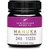 New Zealand Honey Co. Manuka Honig MGO 1122+ / UMF 24+   Aktiv und Roh   Hergestellt in Neuseeland   250g