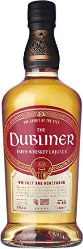 The DUBLINER Irish Whiskey & Honeycomb, Whiskey-Likör mit Honig und Karamell-Geschmack, 30%