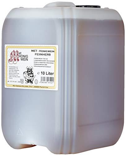 Met Amensis Feinherber Met - Honigwein, 10 Liter Kanister Feinherb (1 X 10 L)