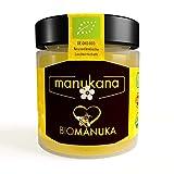 Manukana Bio Manuka Honig MGO 263+ (250g)   Weltweit beste Qualität   Ethische Imkerei   Echte Gläser