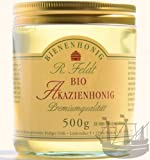 Akazien BIO Honig, lieblich, klar, flüssig, super zum süßen, zum Anrichten von Soßen & Salatsoßen, 500g