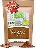 RAIBU® Kakao Pulver BIO Vegan 1kg + 100g extra I Reines Kakaopulver entölt ideal zum Backen als Backkakao oder als Trinkschokolade I 100% natürlicher Rohkakao abgefüllt in Deutschland