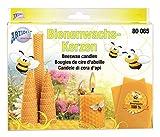 CREARTEC - Bienenwachs Kerzen Set - perfektes Set zum Herstellen von Bienenwachs Kerzen - für die Kerzenherstellung - Made in Germany