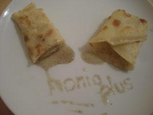 Crepe mit Honig