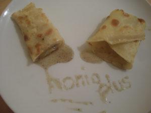 Crepe mit Honig kleines Format