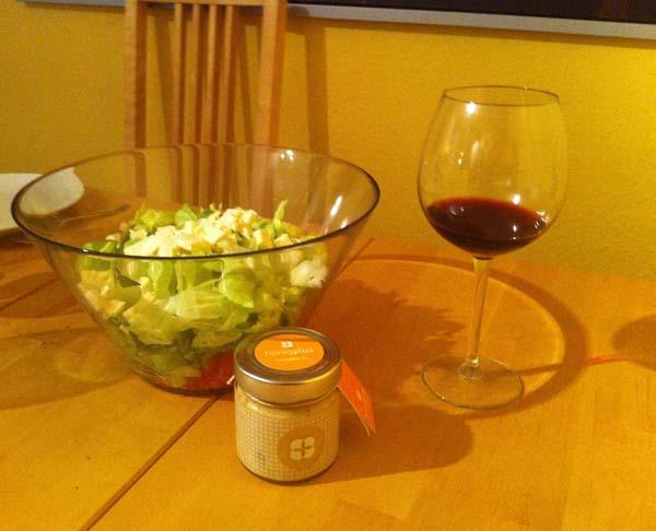 Salatsauce mit Honig