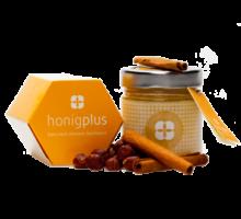 Weihnachtshonig, Honig mit Nüssen und Zimt