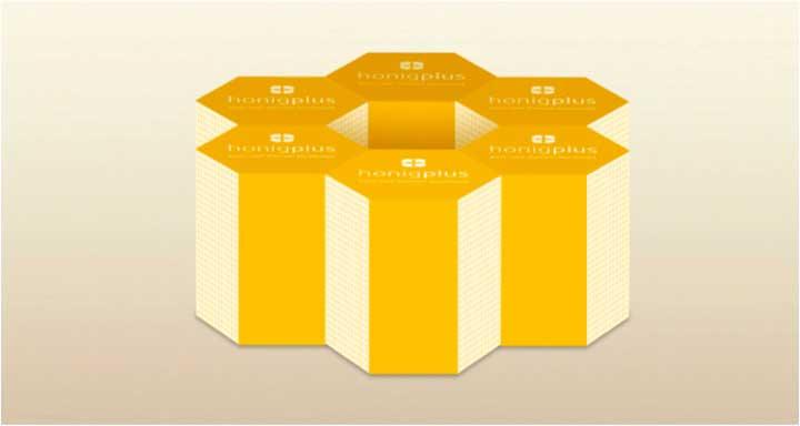 Nachhaltiger Honig in Geschenkverpackungen