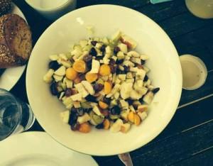 Unser Obstsalat für ein gesundes Frühstück