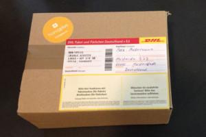 Päckchen von mit leckerem Honig von Honigplus Honigversand
