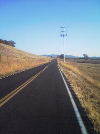highway-kalifornien-herbst Mendocino County Willits