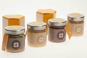 Luxus Honig, edler Honig in schöner Verpackung