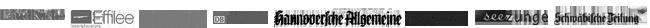 Honig Online Shop Referenz Logos Presse