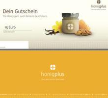 15 Euro Gourmetgutschein bei Honigplus