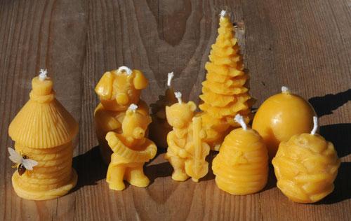 Bienenwachskerzen kaufen im online Shop