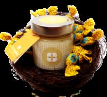 Osternest großes Glas Honig