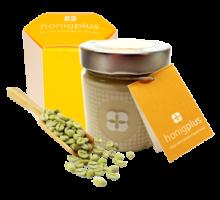 Grüner Kaffee im Honig